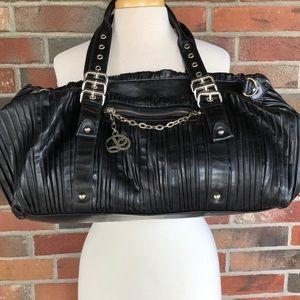 Huge black slouchy bag